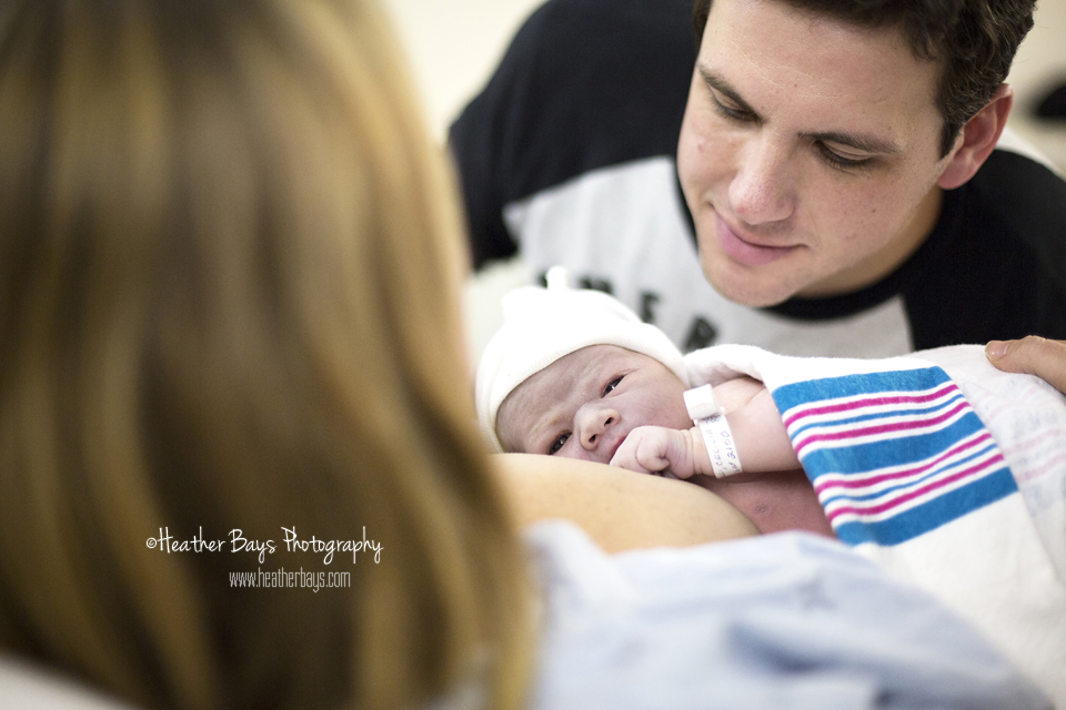 February 22nd  Good Evening Nolan {birth story: hospital birth}