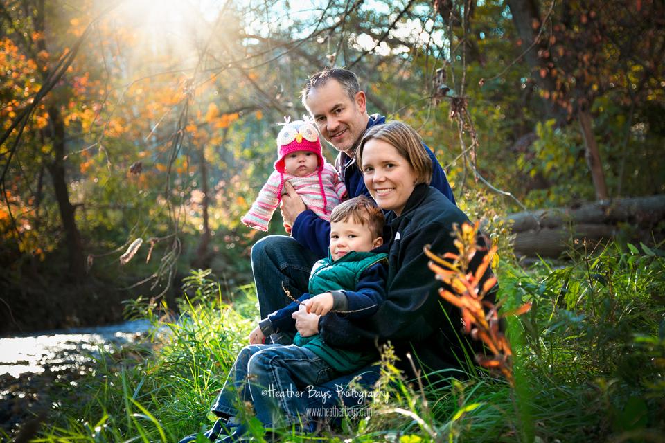 February 9th   Sarah & Bret {family lifestyle portrait session}