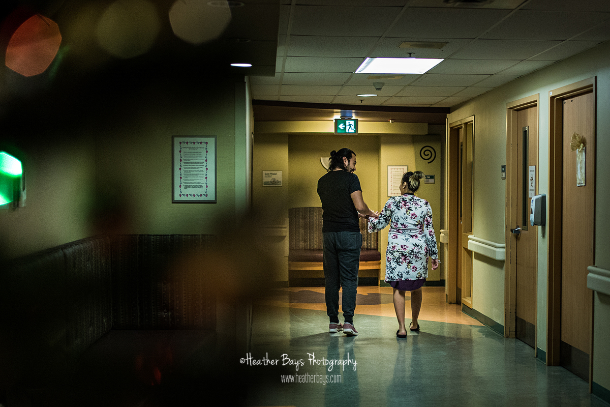 walking the hospital halls