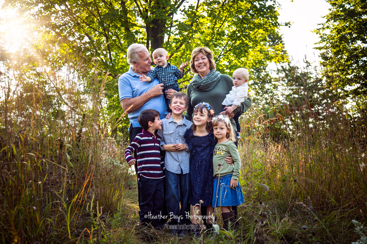 October 22nd  The Whole Fam Jam  {extended family lifestyle portrait session}