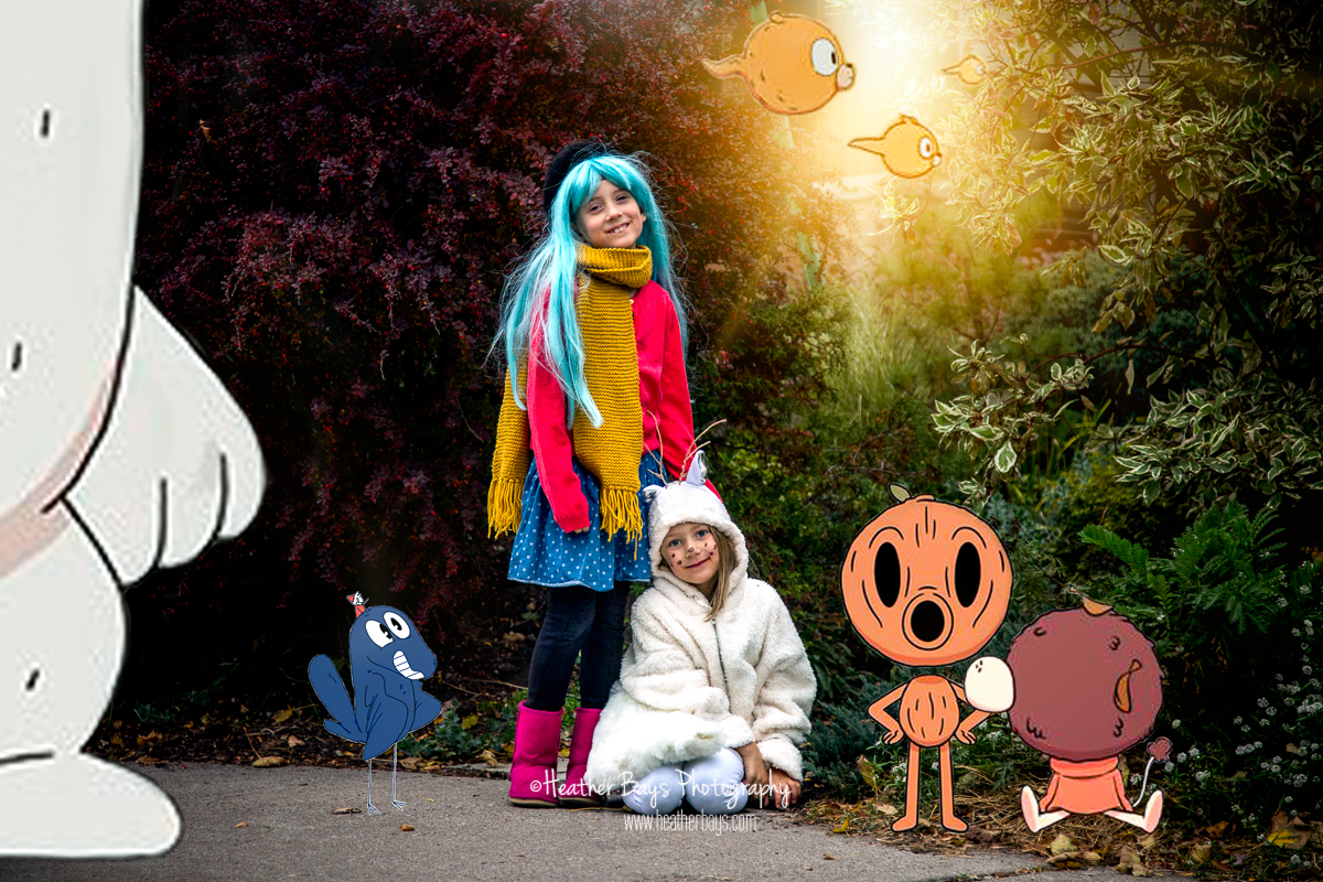 November 1st  Hilda and Twig's Halloween Adventure (trick or treating event session}