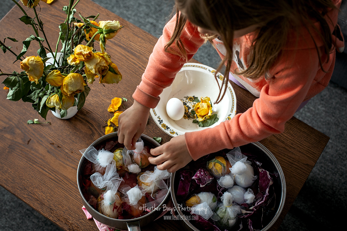 red onions naturally dye