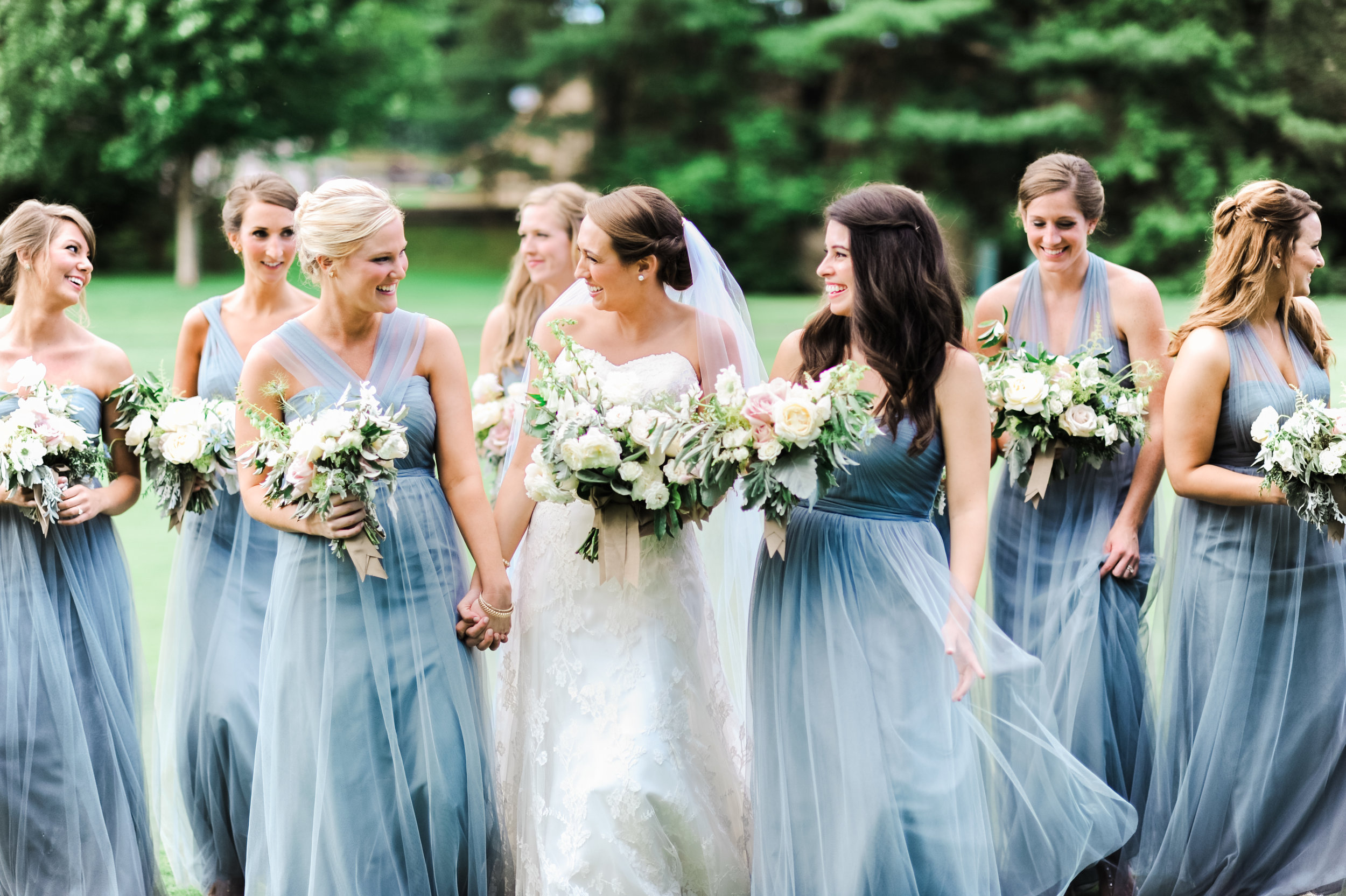 Destination wedding photographer Marcie Meredith. Boone NC wedding at Blowing Rock Country Club.