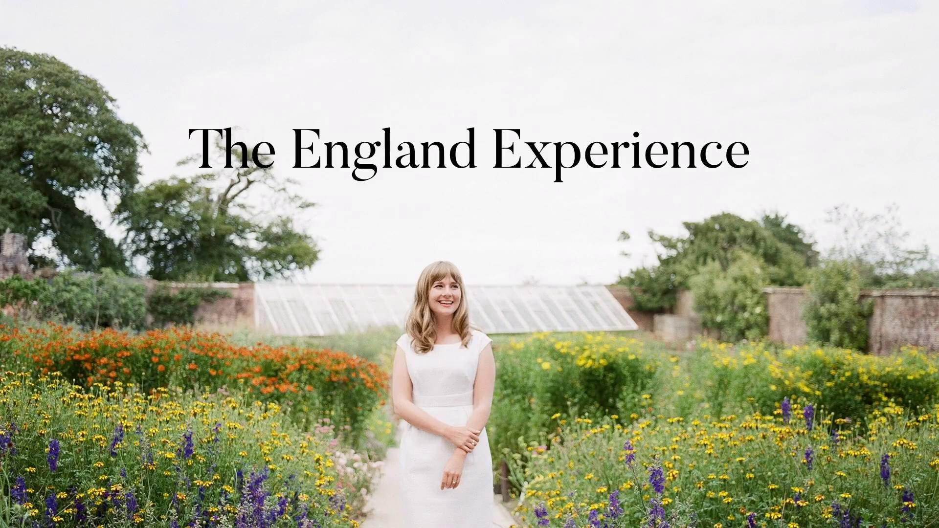 Free Video Series - Join Kelly for free on a digital England Experience. In this four-part series you'll learn about using the principles of design, plant trials, expert gardening techniques, wiring flowers, and using negative space in arrangements!