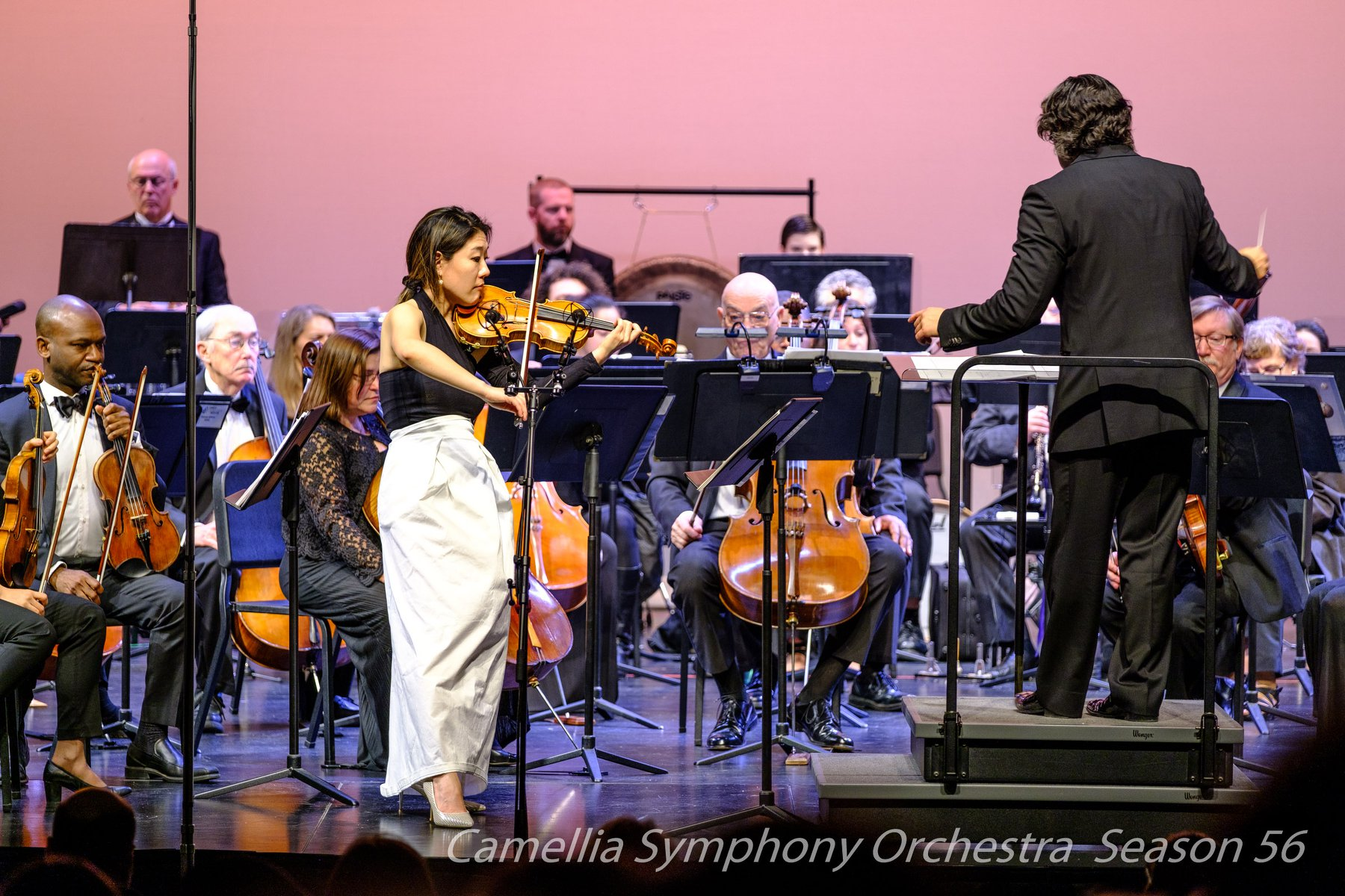 Camellia Symphony Orchestra // Feb 16, 2019..