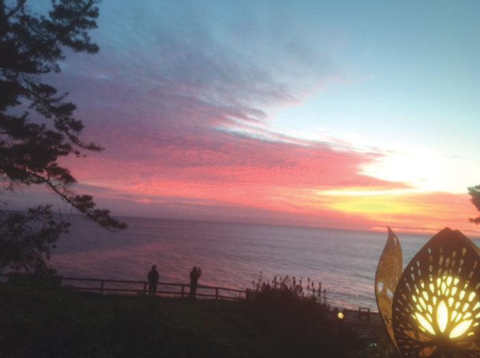Esalen at Sunset