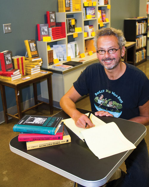 For our January through April issue, writer Deborah Bayer interviewed Ari Weinzweig, co-founder and CEO of Zingerman's, about the release of his new book:  A Lapsed Anarchist's Approach to Managing Ourselves , the third book in the  Zingerman's Guide to Good Leading  series. You can read that interview  here .