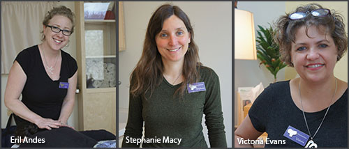 Article Sidebar:  Getting to Know Three More Practitioners at WomanSafeHealth  (click to read).