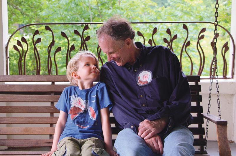 David and son, Ben