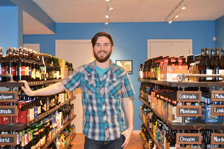 Adam Gottschalk, owner of the Blue Front
