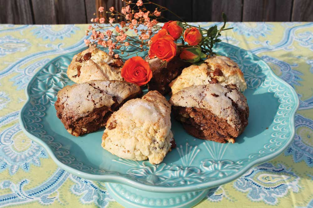 Prince Charming & Fairy Godmother Scones