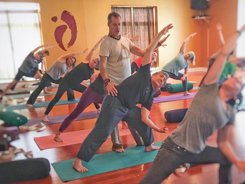 Photos courtesy of yoga teacher Scott Carter