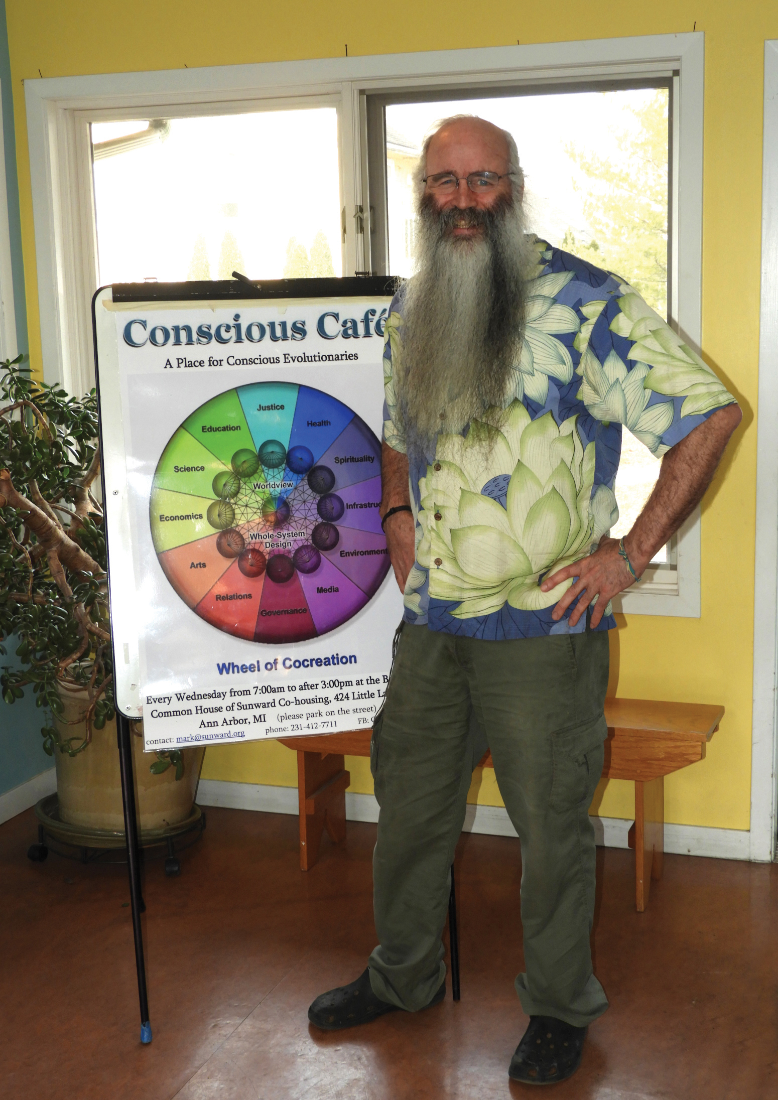 Mark Wagnon from the Conscious Cafe.