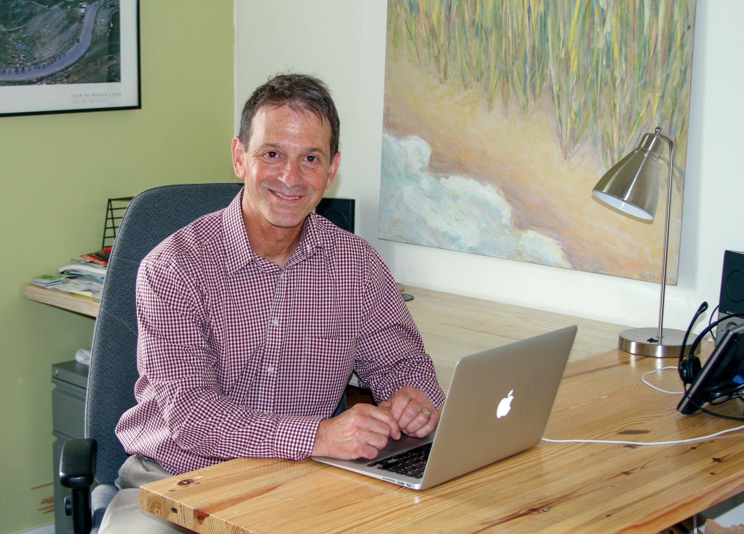Michael Garfield, the EC's director
