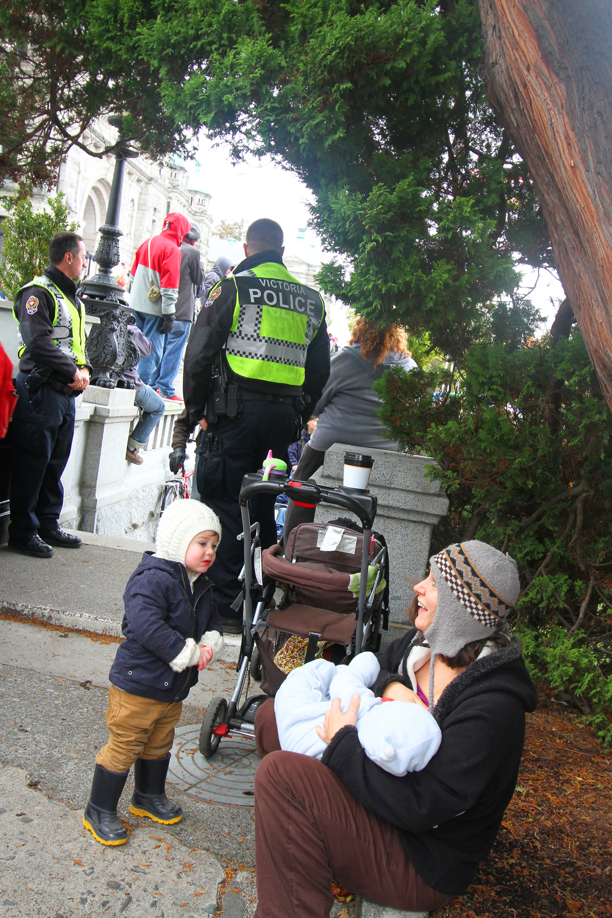 Protesting for future generations, Victoria B. C.