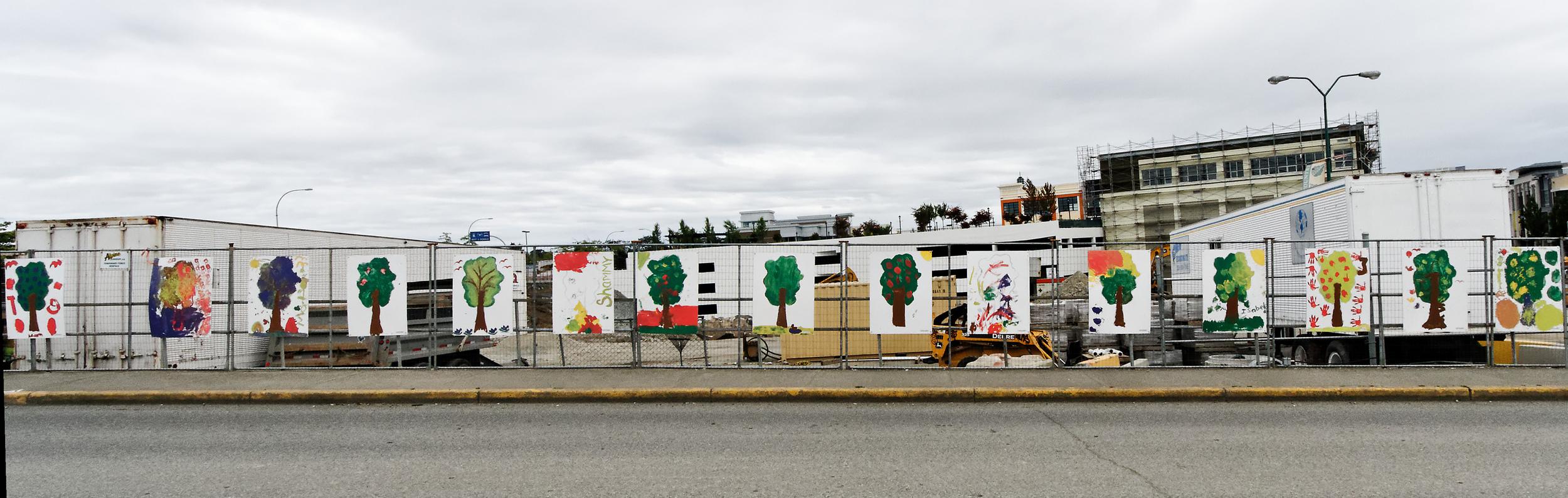 Painted Trees, Victoria B.C.