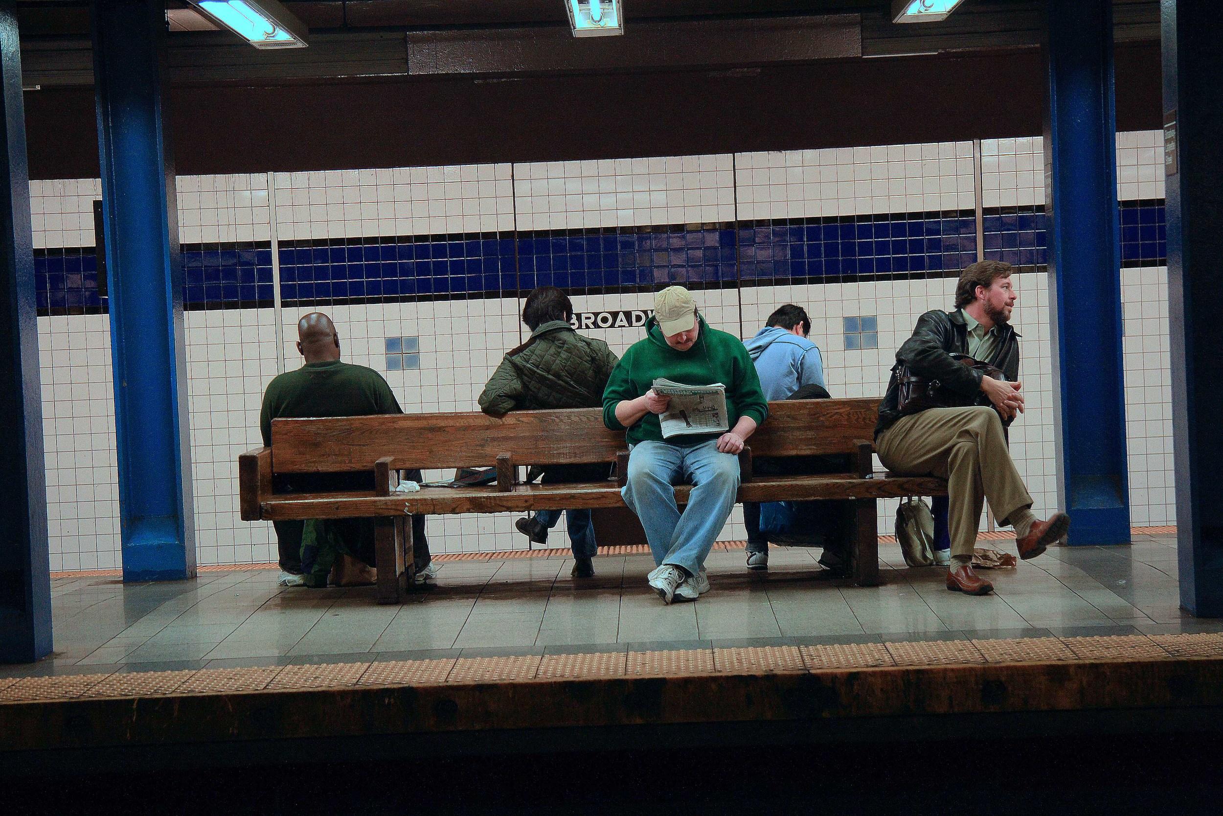 Broadway Subway NYC