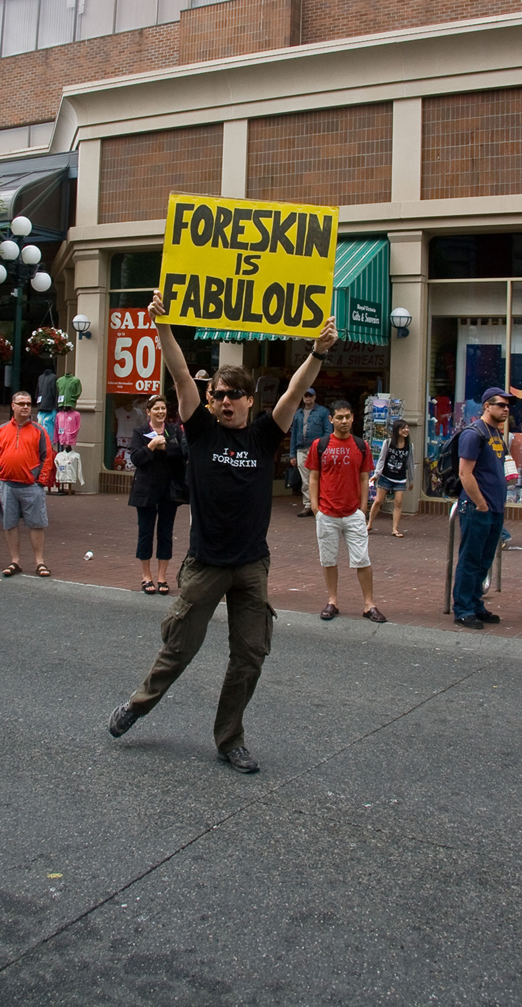 """ Foreskin is Fabulous"""