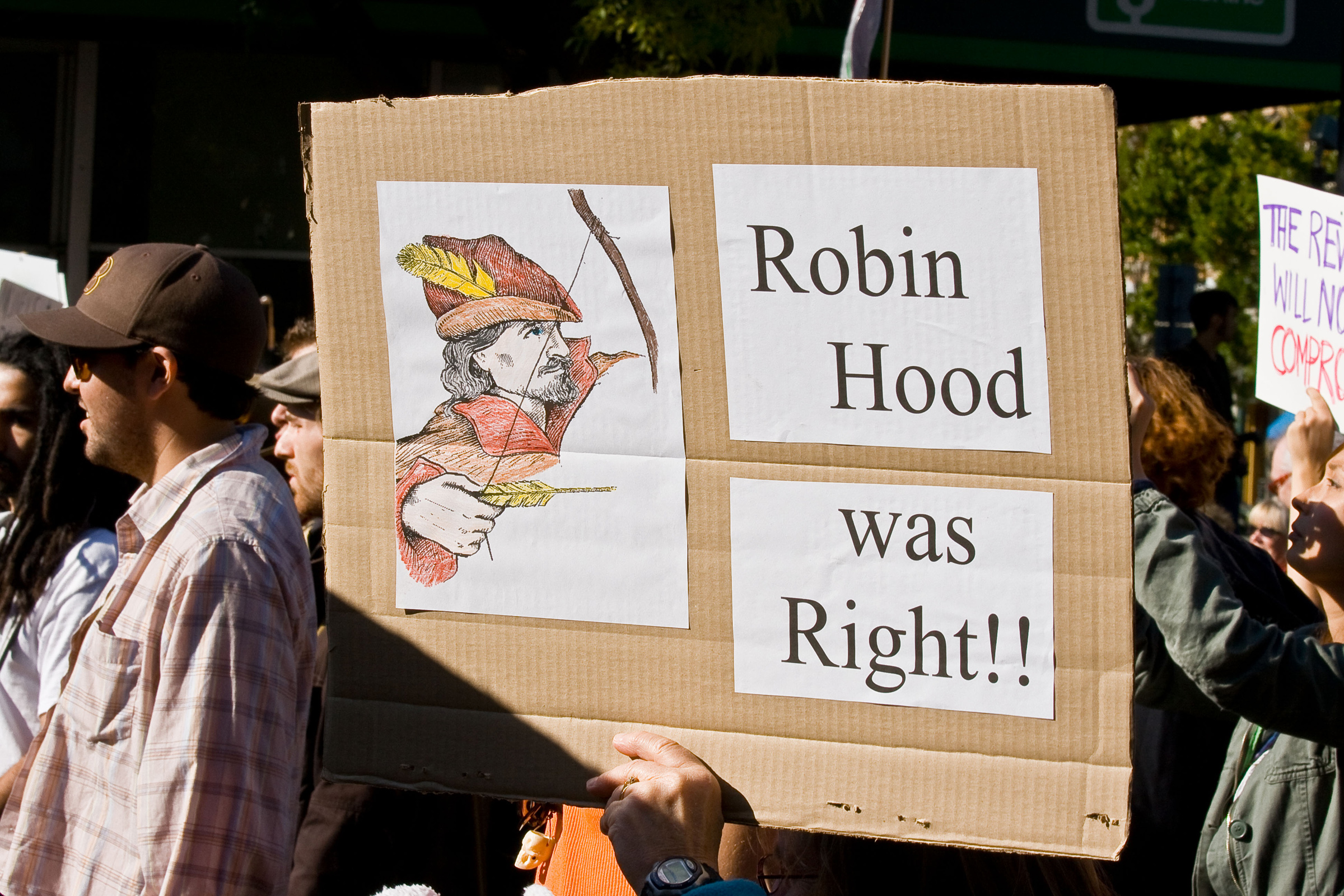 """Robin Hood was Right"""