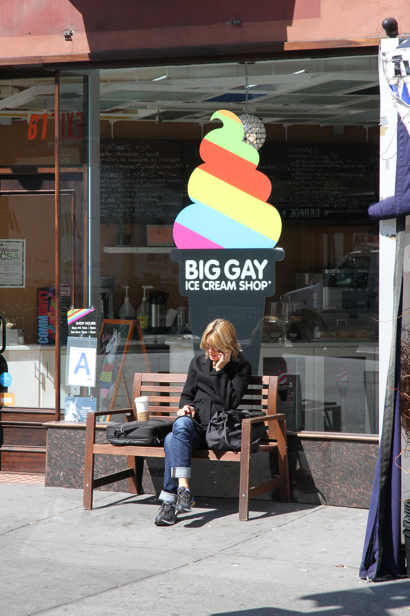 """Big Gay"" Ice cream shop"