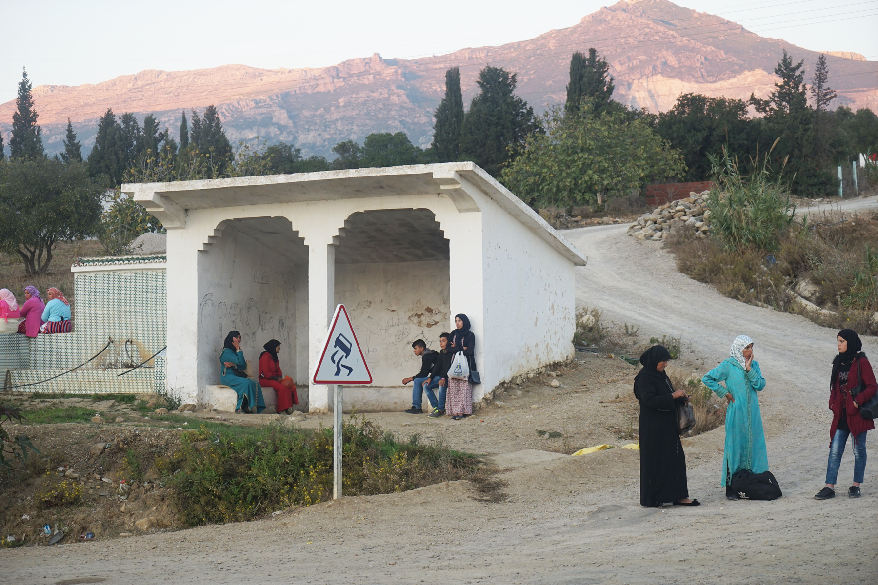 Bus Stop, Morocco