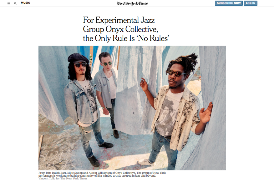 Onyx Collective are breaking all the rules and building a community on the Lower East Side. I profiled them for the New York Times. -