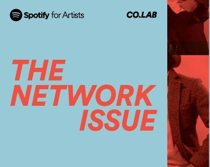 I served as executive editor for a limited edition run of zines for the team at Spotify for Artists (PDF) -