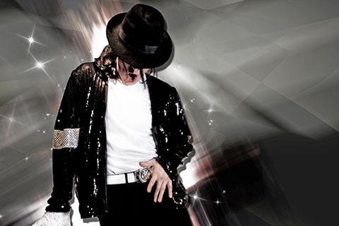 James Aston as Michael Jackson