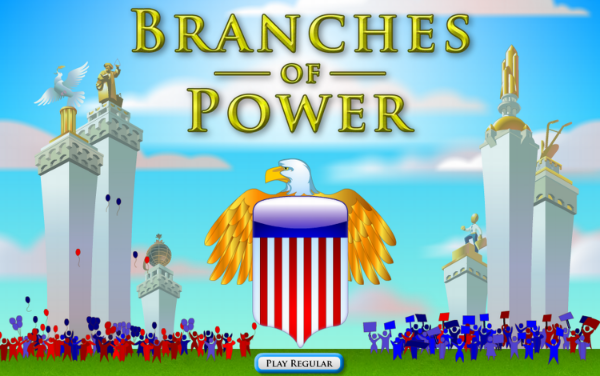 Branches of Power, Serious Game, Filament games, Politics, Civics