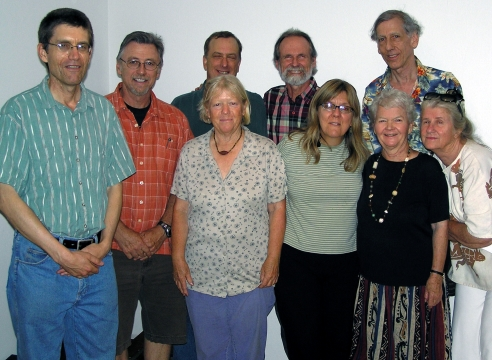 Some of the original founders at 25th anniversary of ZDS in 2007