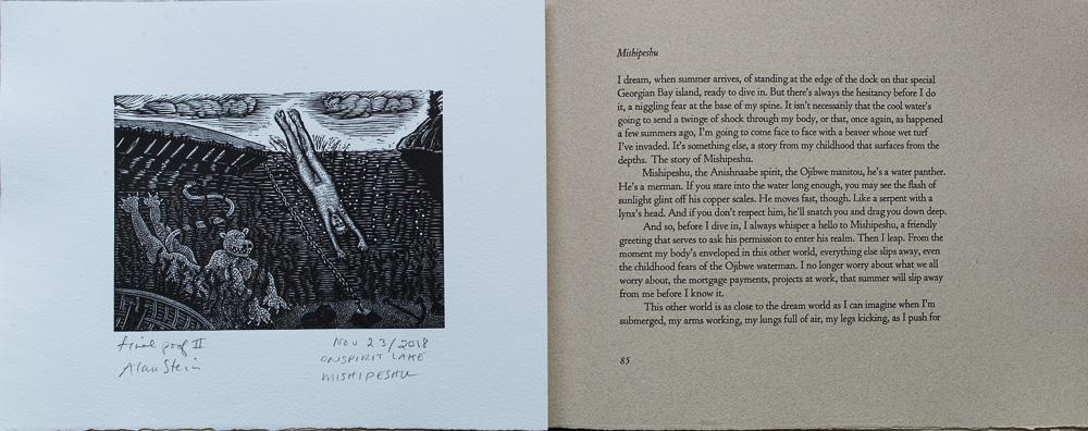 On Spirit Lake, Mishipeshu, Joseph Boyden, page spread.jpg