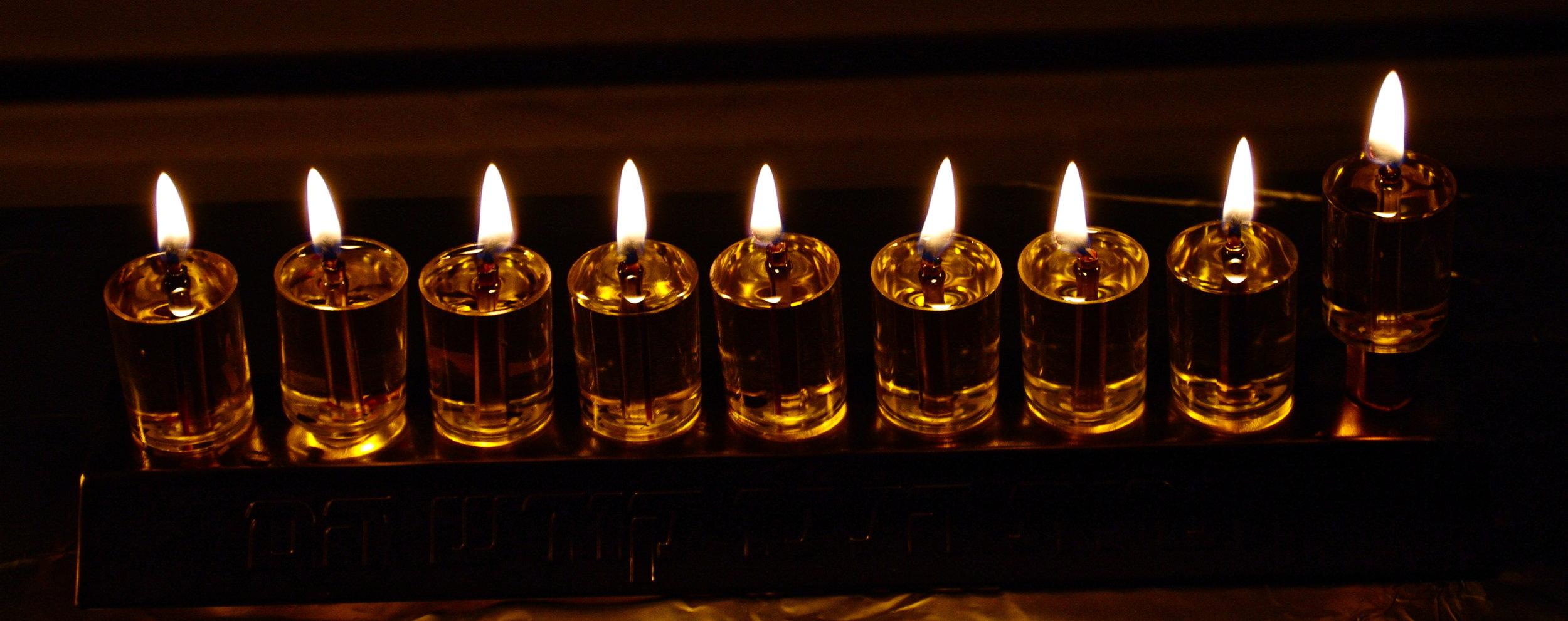 Shabbat Chanukah @ PJC - December 8   Join us for a spirited & spiritual Shabbat Morning Chanukah Hallel & Tefilah followed by a celebratory Kiddush