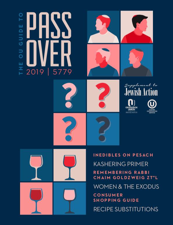 OU Pesach Guide