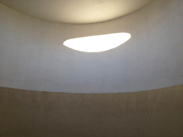 James Turrell was a highlight of the sculpture walk.