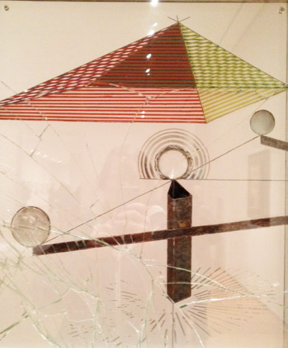 The MOMA has quite a few nice Duchamp pieces. The Philadelphia Museum of Art has a ton, as well. Worth a trip!