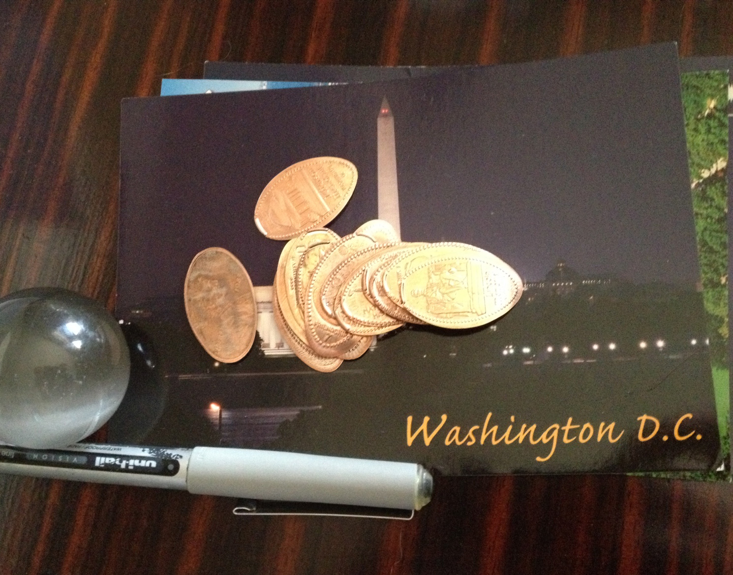 We collected many squished pennies!! If you are a fan of these souvenirs, DC is the place for you!
