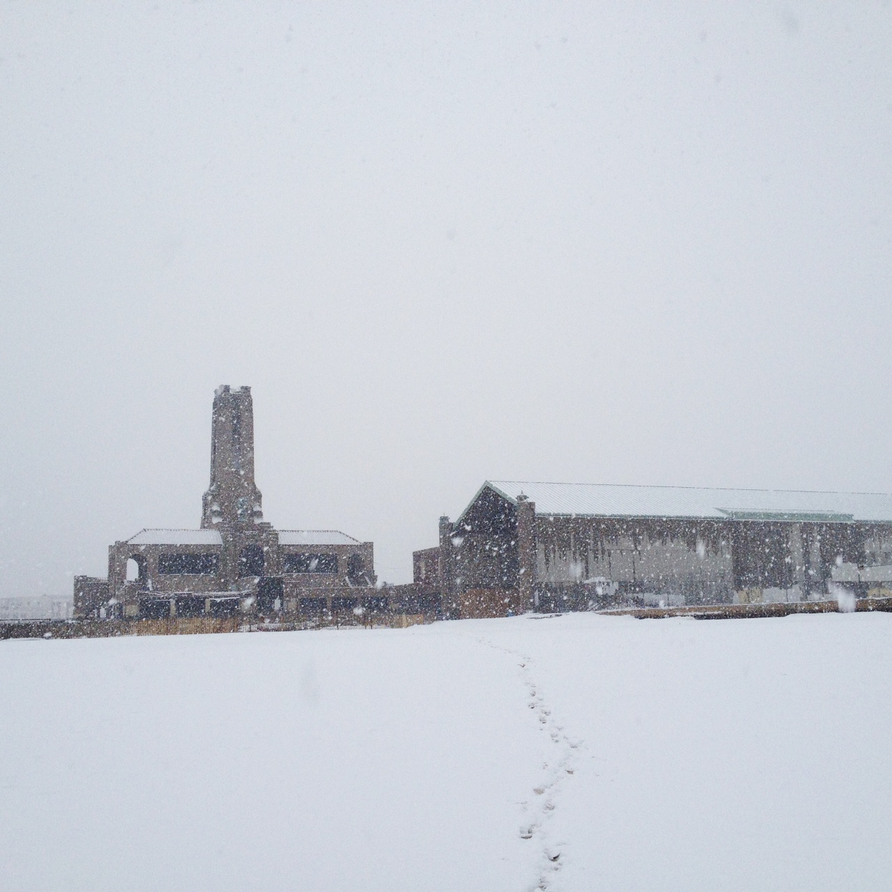 Asbury Park in deep white.