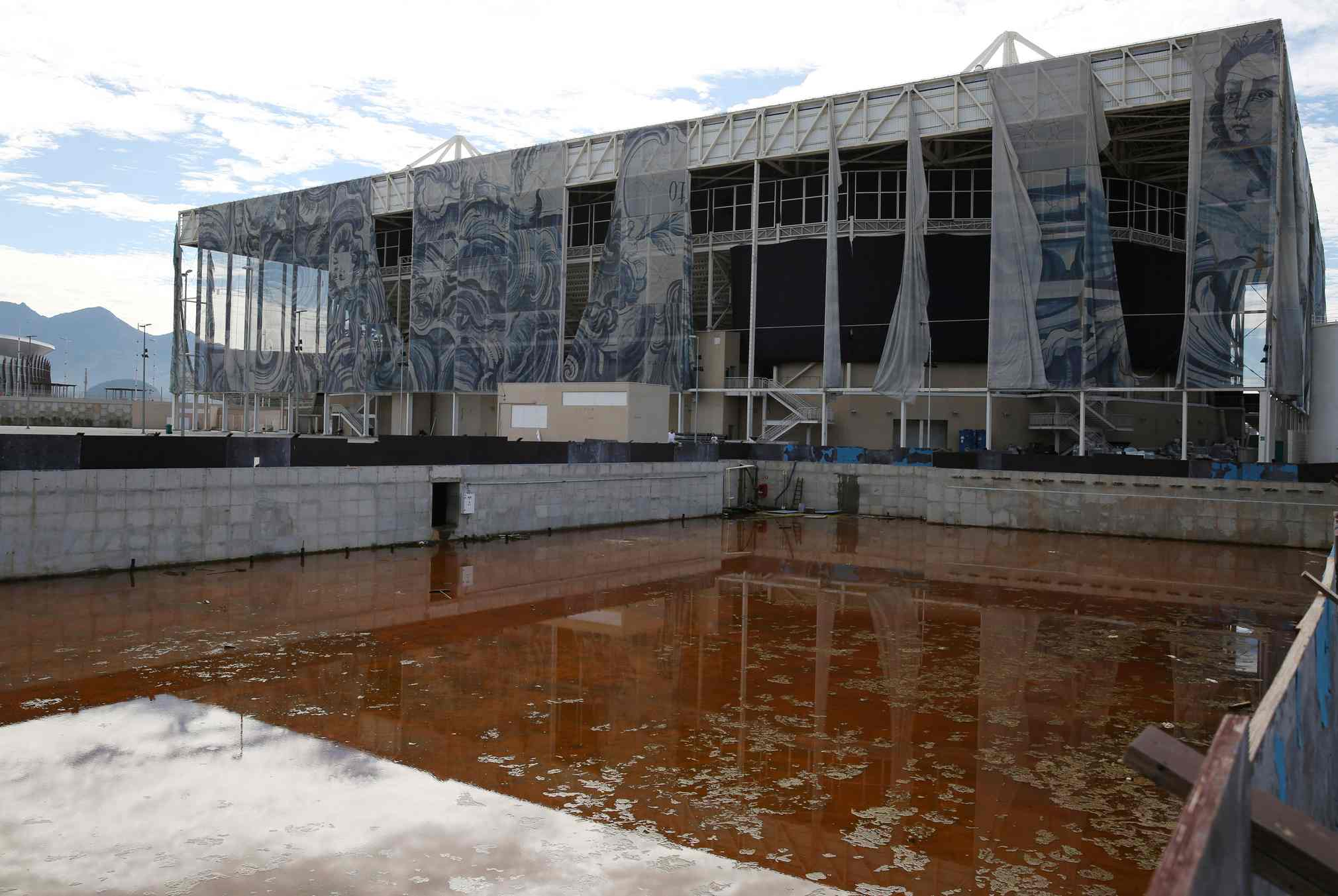 The Rio Olympic Stadiums, only 6 months after the event.