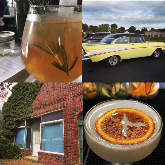 1) Asbury Park Distillery. 2) Bright yellow in Keyport. 3) A perfect building in Far Hills. 4) Holidays at work.