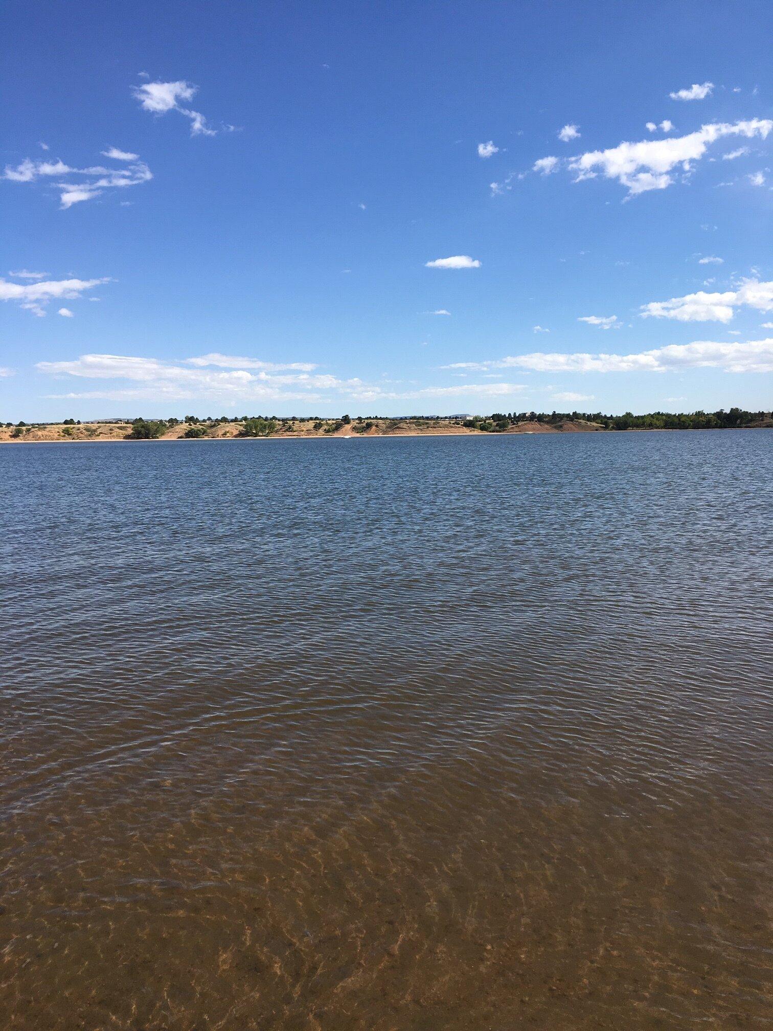 A lake in Colorado.