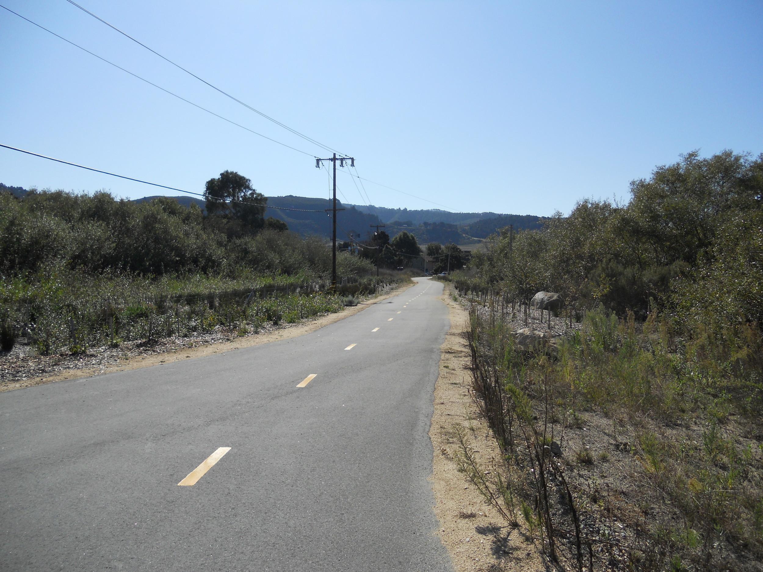 Carmel Hill and River Class I Bicycle Trail Riparian Restoration Progress (November 8, 2011)
