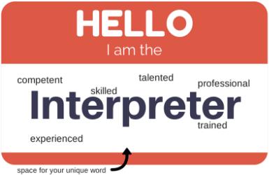 Hello Interpreter Tag