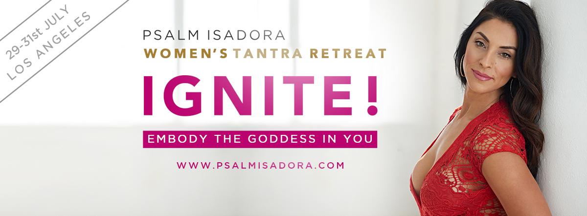 Join me July 29-31st to build a sisterhood of Sensual Goddess Vibes!