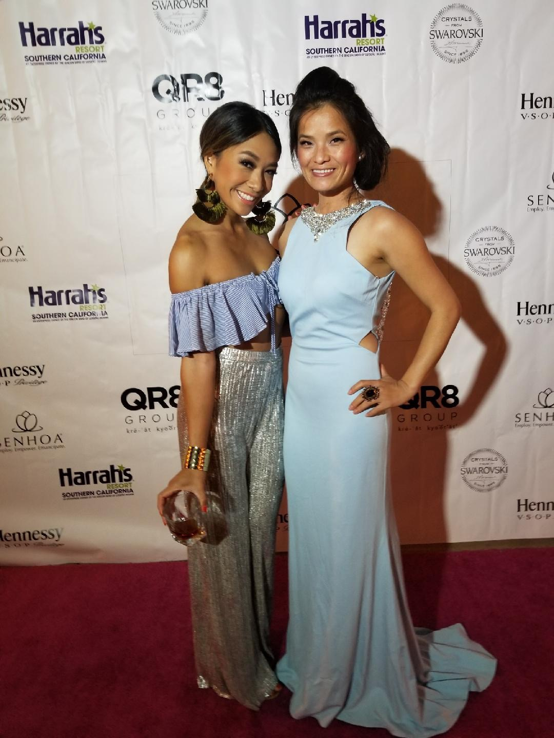 Sen Hoa Foundation  red carpet event advocating employment and emancipation of young girls and women in Cambodia exploited by human trafficking.