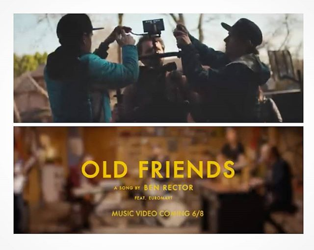 Tomorrow drops the new music video that we filmed for #benrector be sure to check it out! . . . . . . #benrector #oldfriends #music #musicvideos #film #filming #filmcompany #cinema #cinematography #storytelling #tellingyourstory #wemakevideosworthwatching #onlocation #oklahoma #tulsa #retrospecfilms