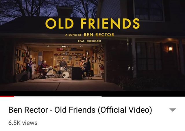 Check out @ben_rector new music video!! We are so stoked to have worked with an amazing group of people while filming this music video. . . . . . . #benrector #oldfriends #newfriends #oklahoma #music #musicvideos #youtube #film #filming #filmcomany #cinema #cinematography #storytelling #tellingyourstory #wemakevideosworthwatching #tulsa #retrospecfilms