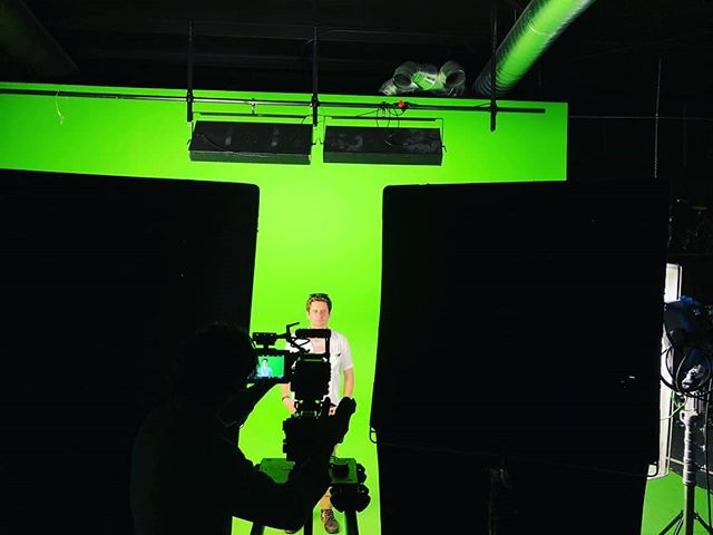 It's a fun Friday, green screen office shenanigans are happening today! . . . . . . #greenscreen #visualfx #funfriday #herecomestheweekend #filmcompany #filming #film #filmandproduction #cinema #cinematography #storytelling #wemakevideosworthwatching #retrospeccrew #wemakevideosworthsharing #oklahoma #tulsa #retrospecfilms