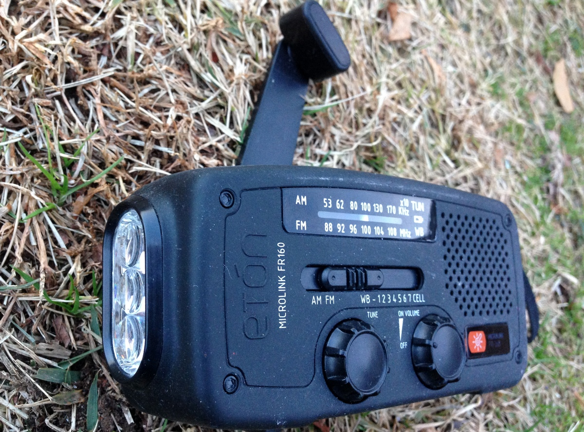 Our friends and supporters at  Eton Corporation  have generously donated self-powered radios for use in rural communities in Sierra Leone and Liberia.