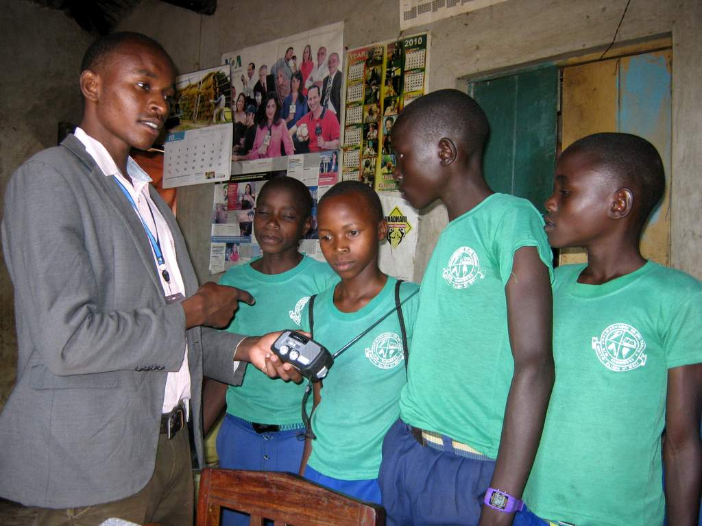 ETOW radios being distributed through our partners in Tanzania.
