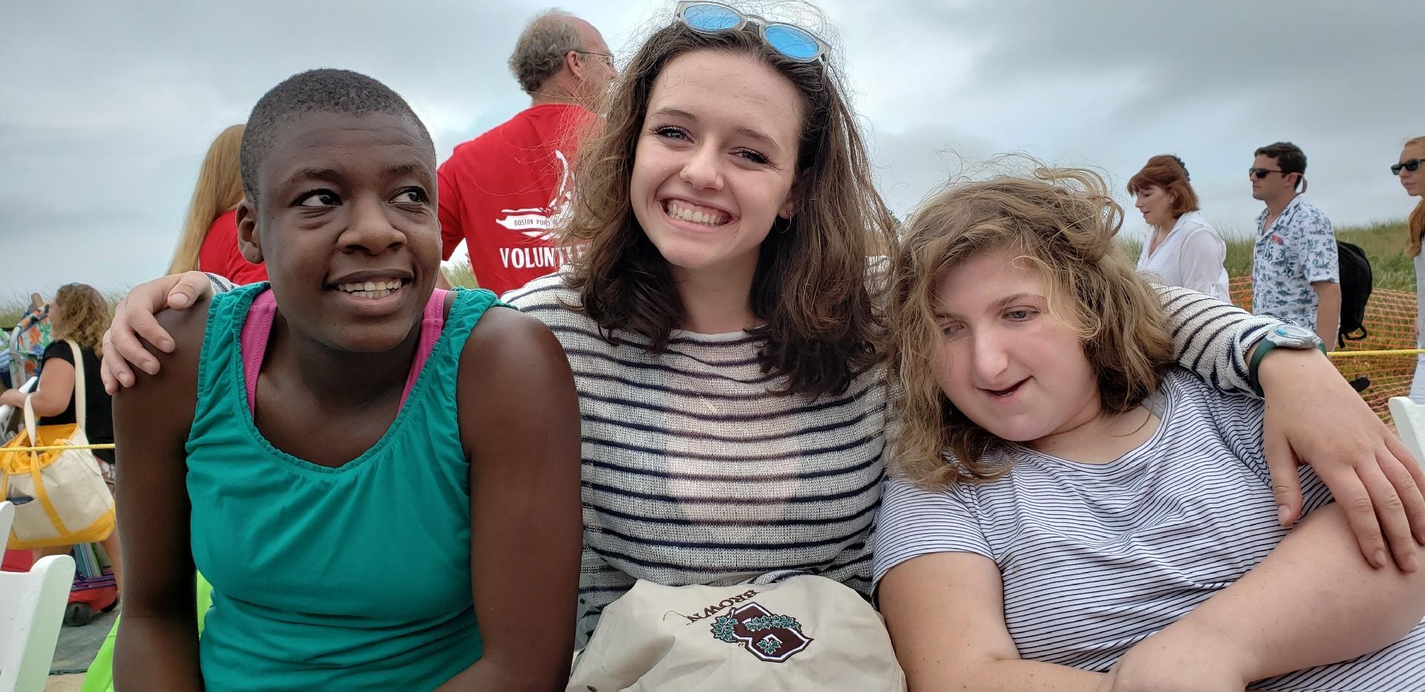 Adama, Eva and Peanut at the Pops